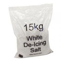 White Winter 15kg Bag De-Icing Salt (Pack of 10) 383498
